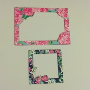 Lilly Pulitzer Magnetic Photo Frames